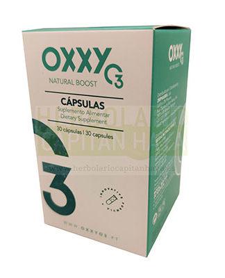 Oxxy O3 cápsulas es un complemento alimenticio eficaz en trastornos circulatorios, metabólicos y respiratorios.