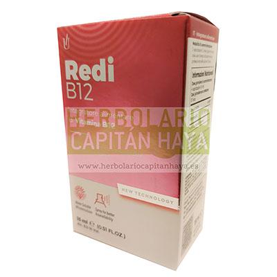 Redi B12 spray Glauber Pharma es un complemento alimenticio a base de vitamina B12 que aporta bienestar neurológicoy mejora las funciones cognitivas, los niveles normales de homocisteína, la concentración y aporta energía física y vitalidad.